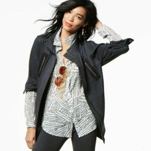 Cabi Charcoal Grey Jacket Size Small